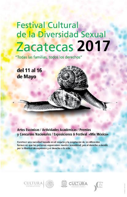 festival de la diversidad sexual zacatecas 2017