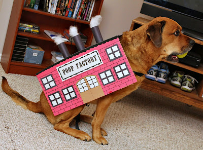 Poop Factory Dog Costume
