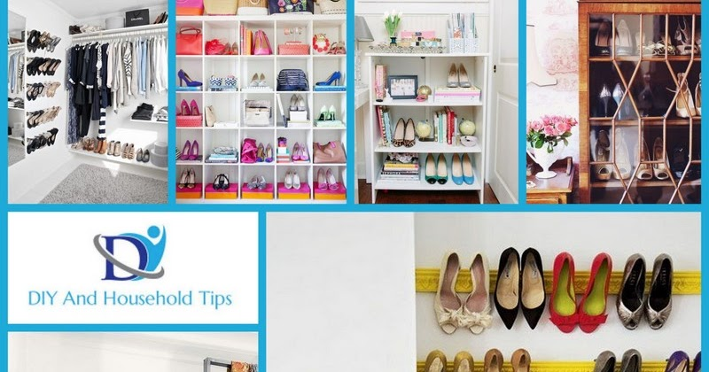 Diy And Household Tips 10 Clever Shoe Storage Ideas For Small Spaces