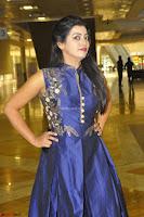 Tarunika Sing in Blue Ethnic Anarkali Dress 33.JPG