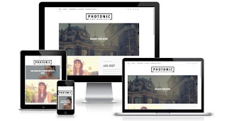 Photonic free gallery portfolio blogger templates themes 2017