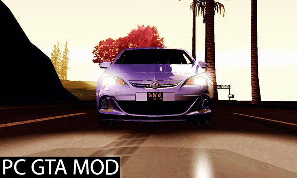 Free Download  2012 Vauxhall Astra VXR  Mod for GTA San Andreas.