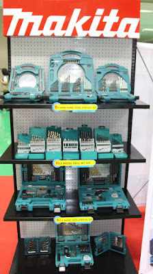 Makita Drill Bit Sets Display Buriram Thailand
