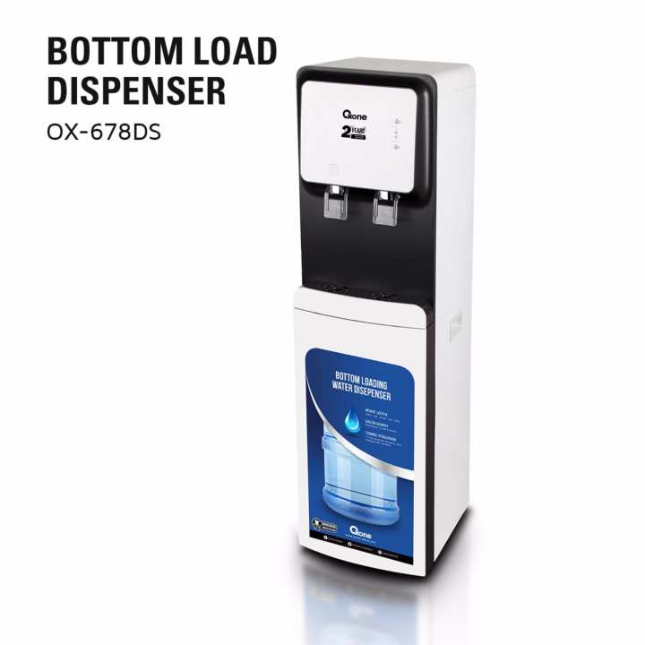 OX-678DS Oxone Bottom Loading Dispenser - Hot & Cold Water