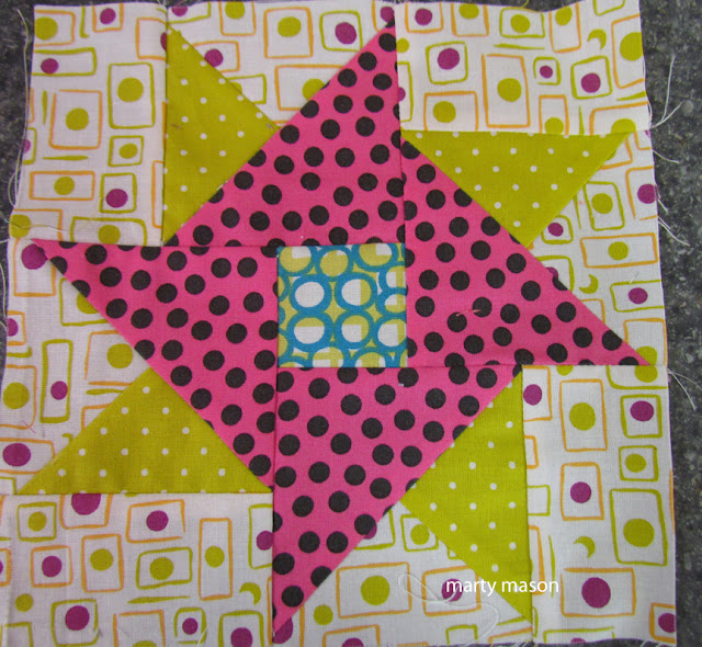 Hope from Hartford quilt block for my Gypsy Wife quilt  - marty mason