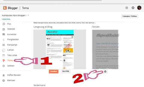 cara mengubah tampilan blog menjadi responsive