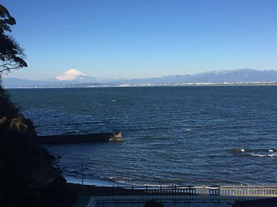 岩本楼から見える富士山