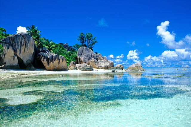 Anse Source D'Argent, La Digue, Seychelles, best beach in the world