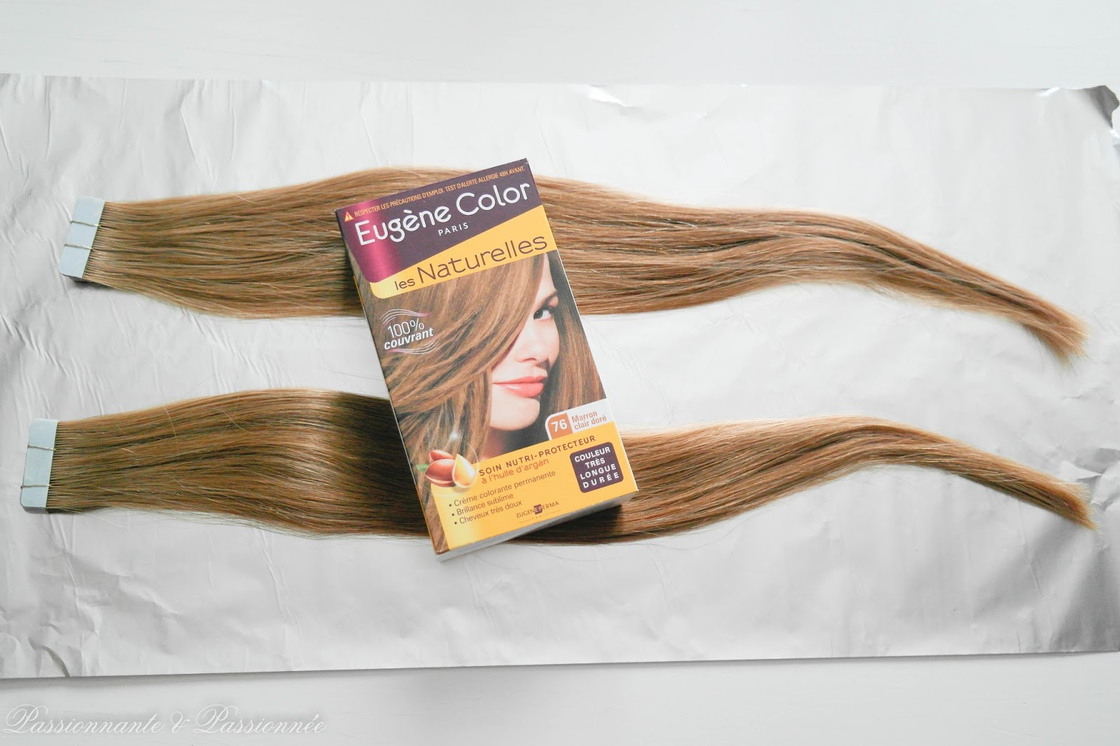 extensions avant coloration
