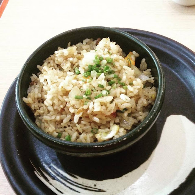 Japanese fried rice at Sumo Sam Japanese Restaurant