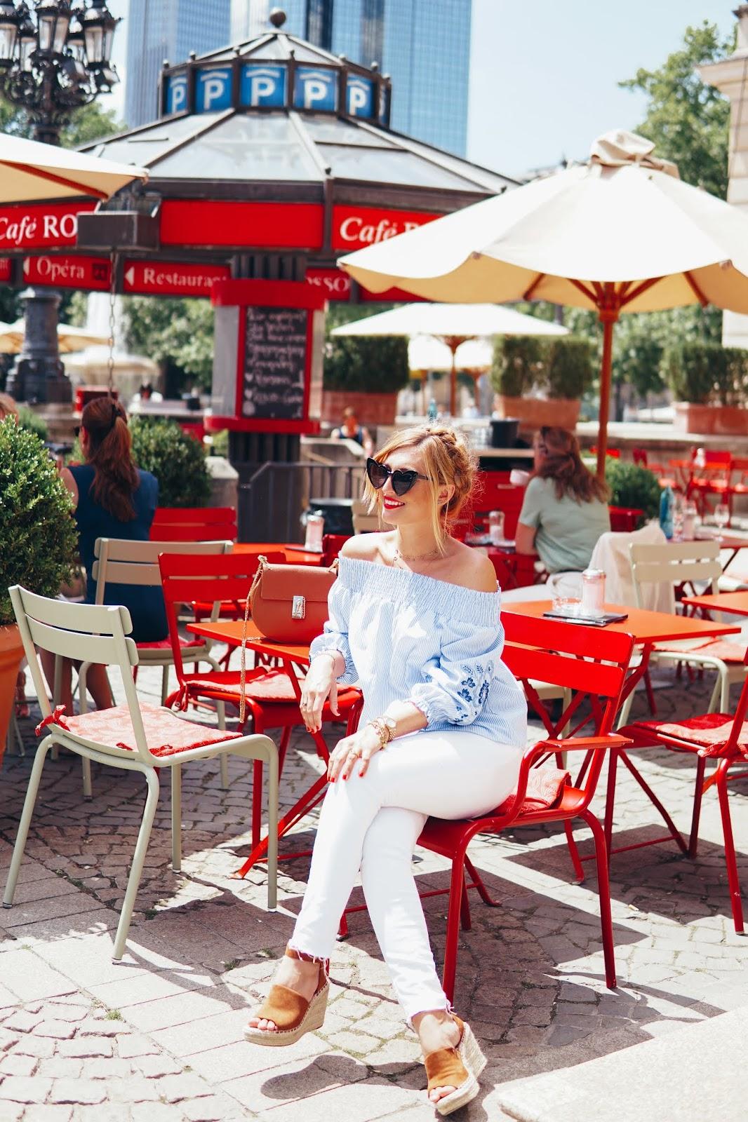 Fashionstylebyjohanna mit einer weißen jeans