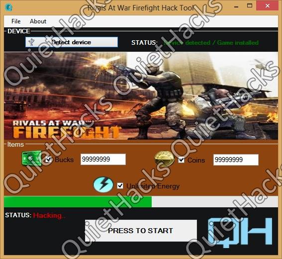 Rivals at War Firefight Hack (Bucks, Coins Generator) Mediafire