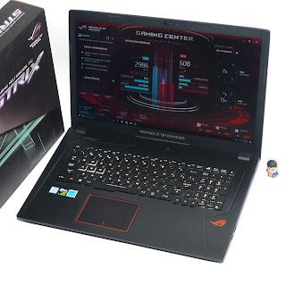 Laptop Gaming ASUS ROG Strix GL753VE Fullset Bekas Di Malang