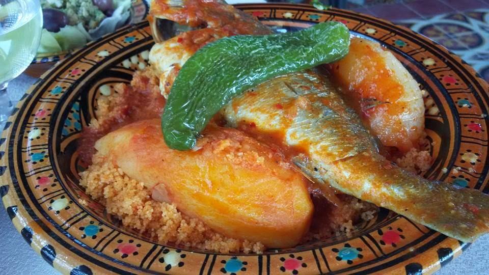 Recette du couscous aux poissons recette tunisienne - Cuisine tunisienne poisson ...