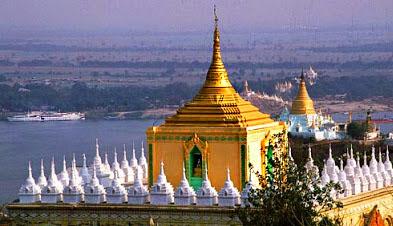 Irrawaddy River Cruises at Sagaing
