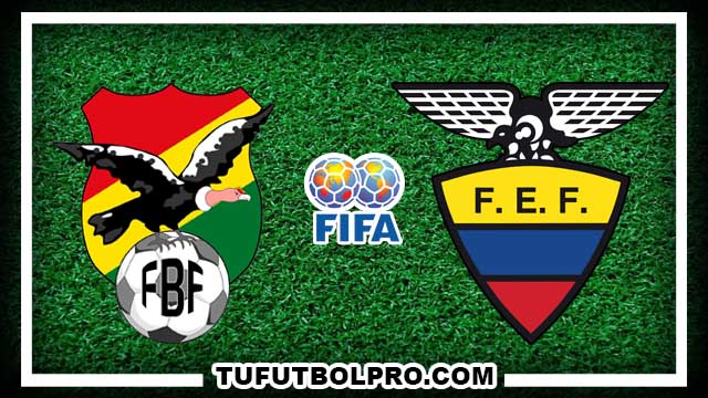 Ver Bolivia vs Ecuador EN VIVO Gratis Por Internet Hoy 11 de Octubre 2016