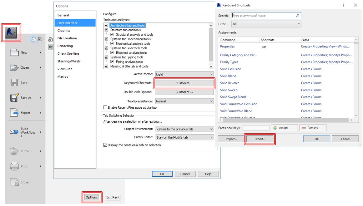 Revit Recess: Revit Keyboard Shortcut XML File