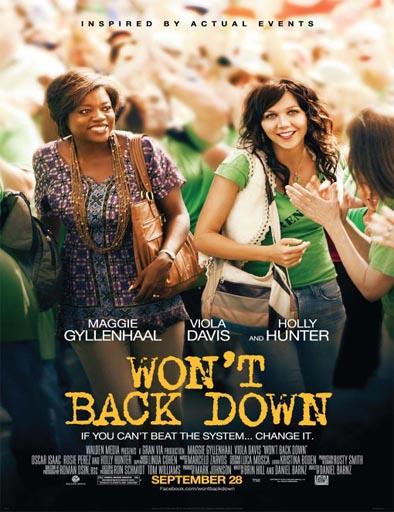 Ver No nos moverán (Won't Back Down) (2012) Online