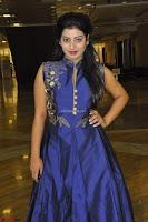Tarunika Sing in Blue Ethnic Anarkali Dress 01.JPG
