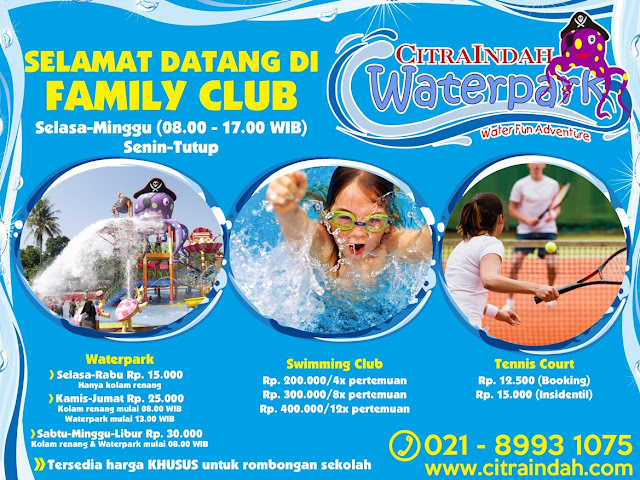 Update Harga Tiket Waterpark Citra Indah City 2018