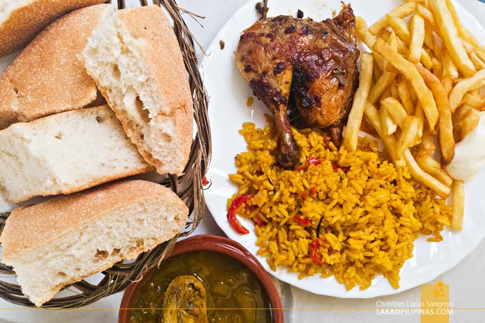 Asilah Food Trip Roasted Chicken Rice Fries