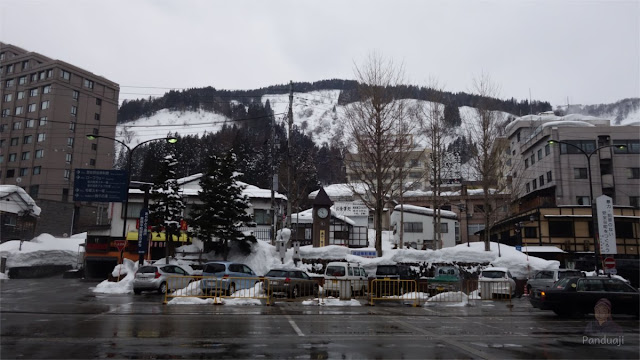 Echigo Yuzawa Station Parking Lot