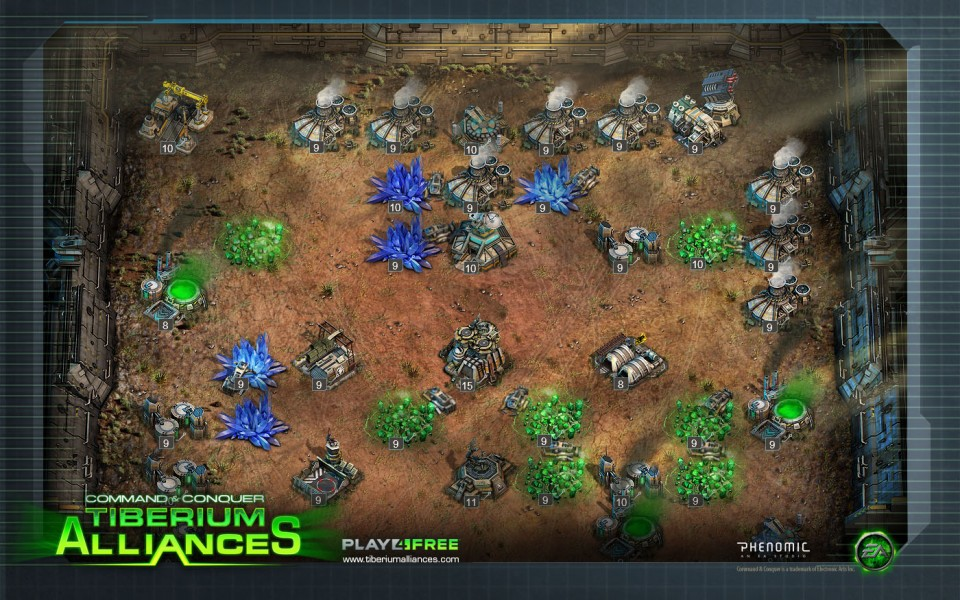 command  conquer tiberium alliances free download