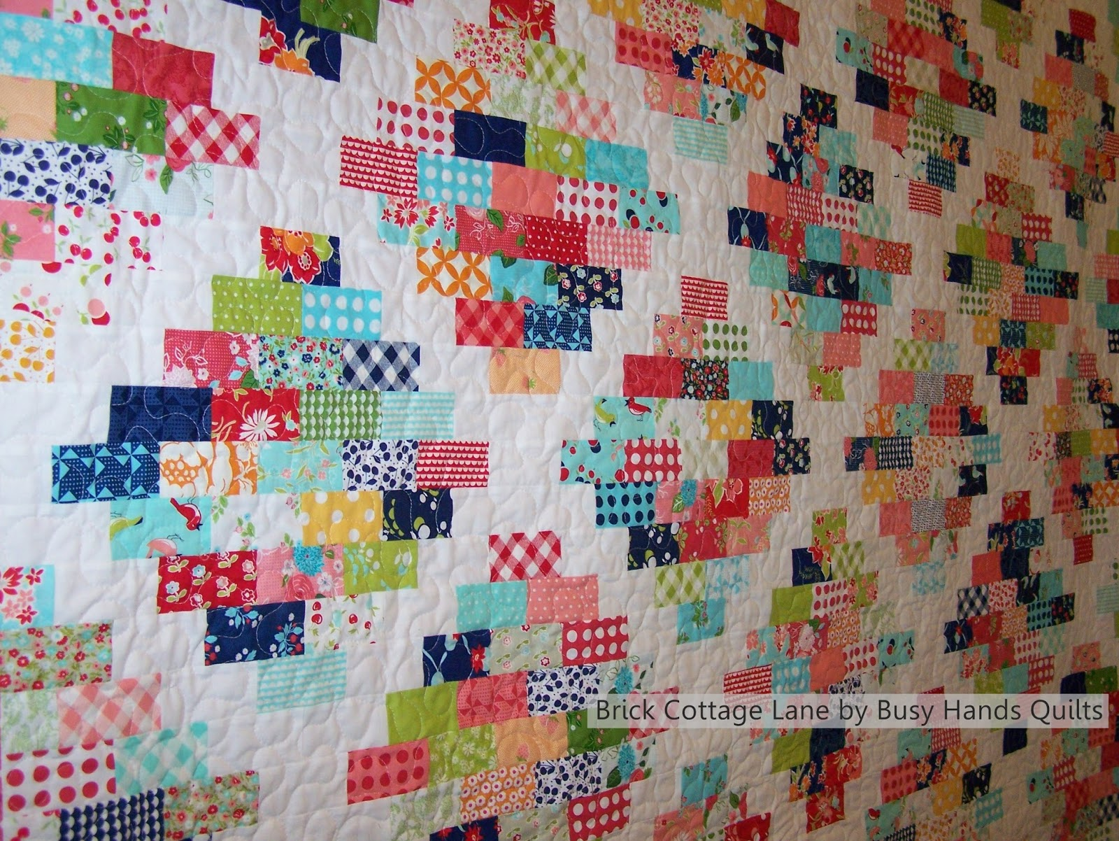 Busy Hands Quilts Blogger S Quilt Festival Brick Cottage