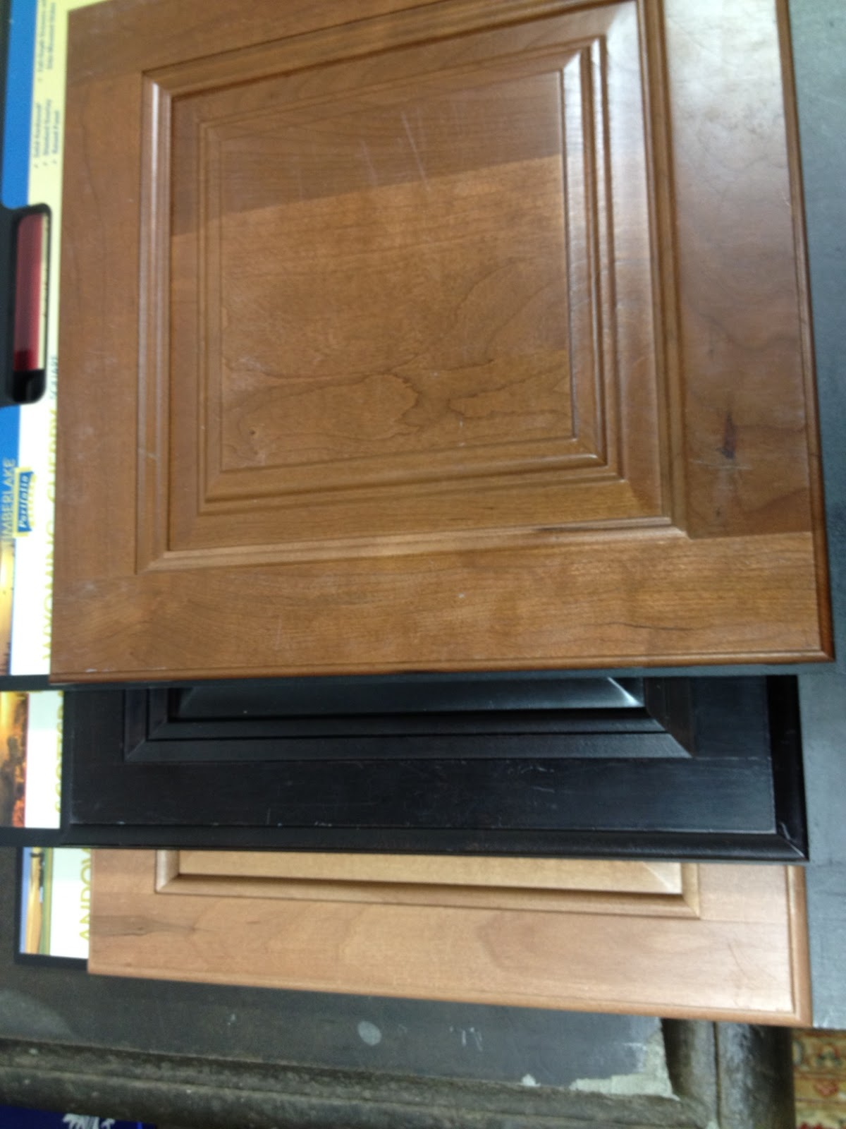 Ryan Wyoming Cherry Spice Kitchen Cabinet