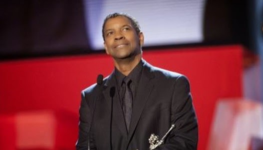 Denzel Washington recibe el premio Donostia