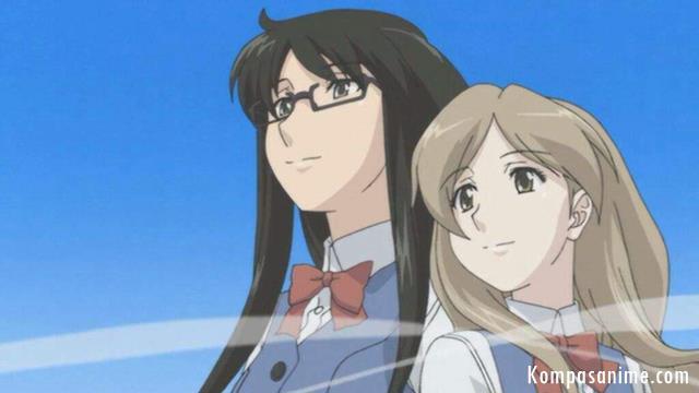 anime bergenre yuri romance terbaik