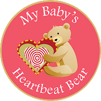 My Baby's Heartbeat Bear logo