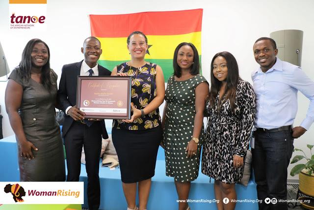 Google Ghana CEO, Estelle Akofio-Sowah Receives WomanRising Top Corporate Women Leaders Award