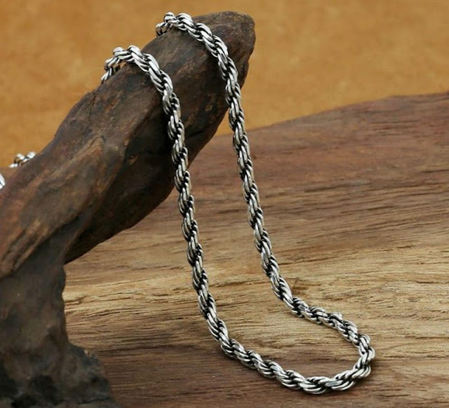 925 Silver Rope Chain