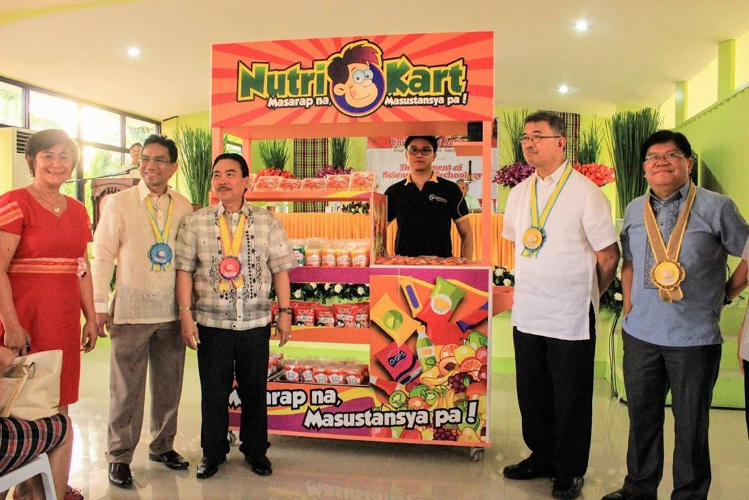 University of Antique pilots first Nutri Kart in Western Visayas