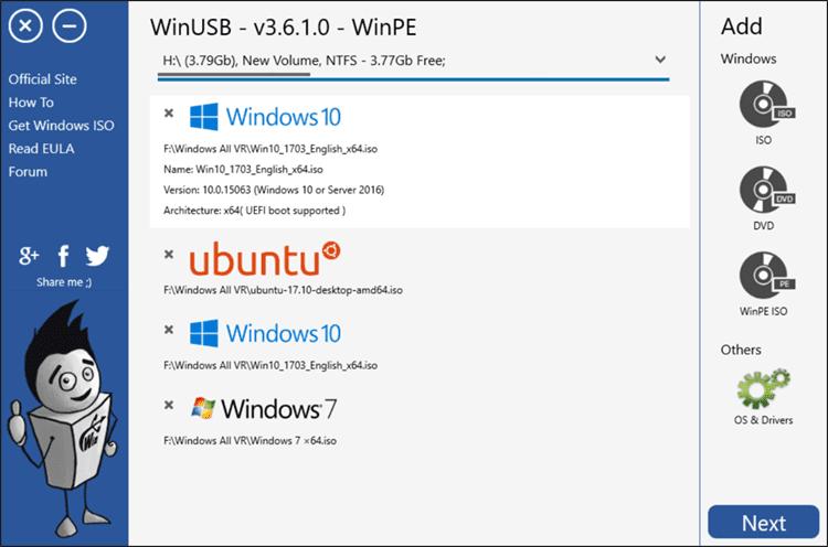 برنامج حرق ويندوز 10 على فلاش