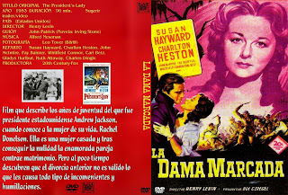 Carátula: La dama marcada (1953) The President's Lady