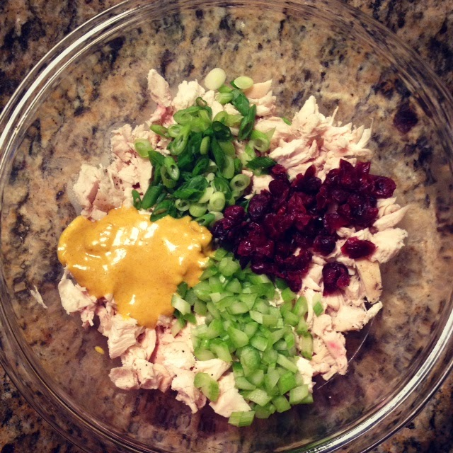 Eating Fabulously, Christopher Stewart, recipe, curry chicken salad,