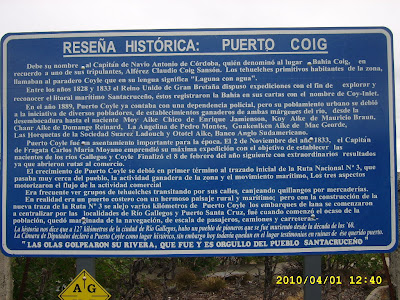 Dónde está Puerto Coig 3
