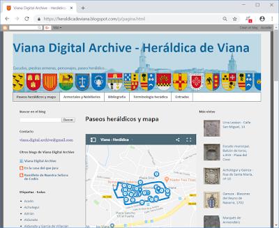 Heráldica de Viana
