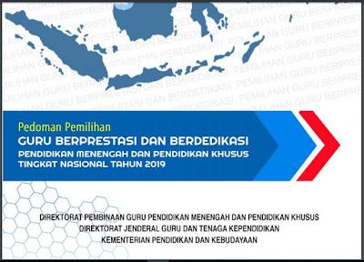 Pedoman Pemilihan Guru Berprestasi dan Berdedikasi Tk Nasional 2019-http://www.librarypendidikan.com/