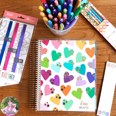 Erin Condren Life Planner and accessories