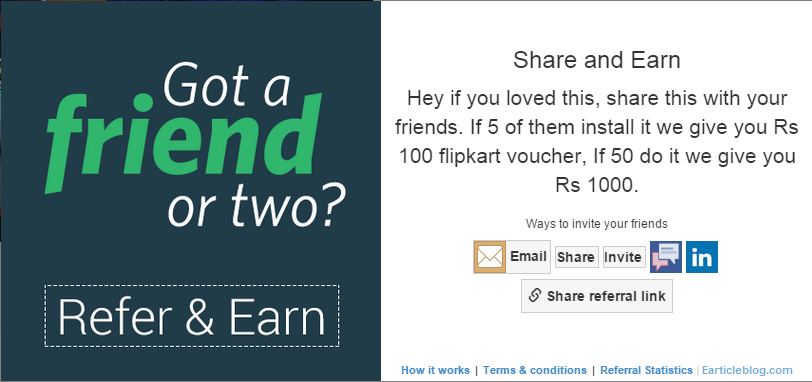how to get free flipkart gift card