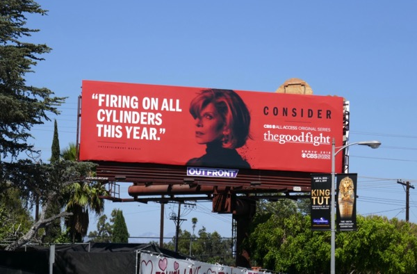 Good Fight Firing all cylinders 2018 Emmy FYC billboard