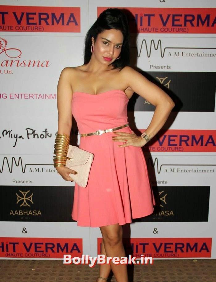 Kavita Verma, Sunny Leone, Koena Mitra Hot Pics from  Rohit Verma's Bridal Show