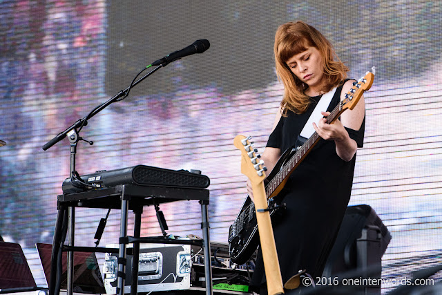 Daughter at Bestival Toronto 2016 Day 2 at Woodbine Park in Toronto June 12, 2016 Photos by John at One In Ten Words oneintenwords.com toronto indie alternative live music blog concert photography pictures