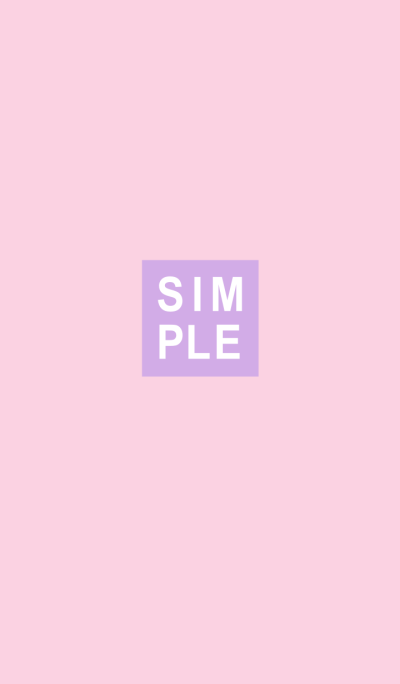 SIMPLE SEAL(purple pink)V.15