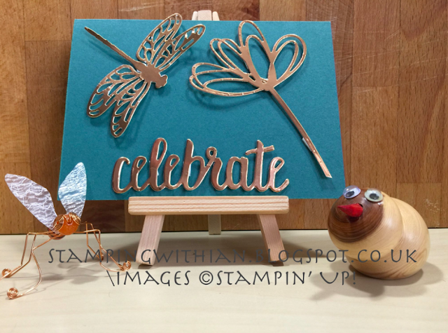 Stampin' For All Design Team Challenge: Die Cuts Only Nigezza Creates