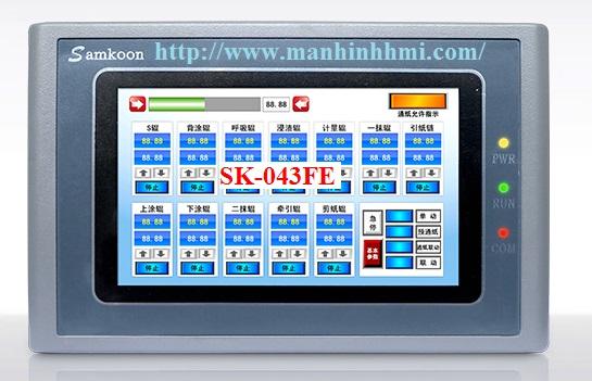 Đại lý bán màn hình cảm ứng 4.3 inch HMI Samkoon SK-043FE