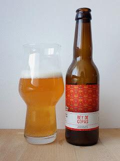 Mad Brewing Het Nest Rey de Copas Belgian Blonde Ale La tienda de la cerveza dorado y en botella.jpg